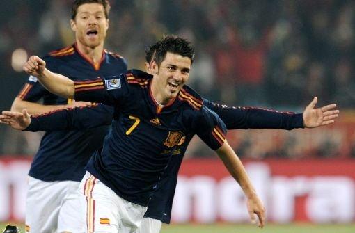 Spanien dank Villa Gruppensieger