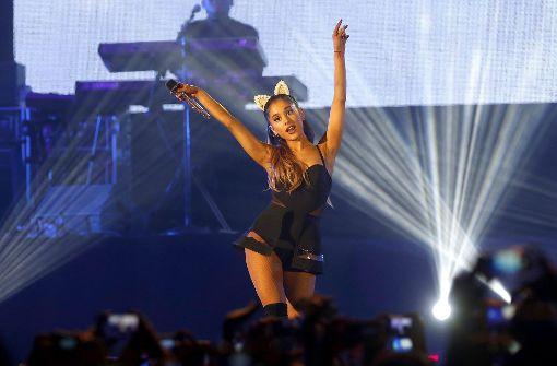 Ariana Grande setzt ihre Welttournee fort
