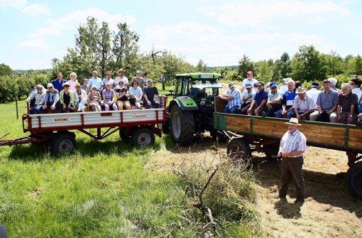 Landwirte ernten Anerkennung für ihre Arbeit
