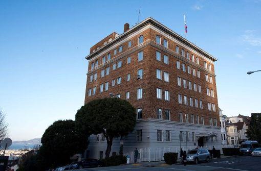 Russland muss Konsulat in San Francisco schließen