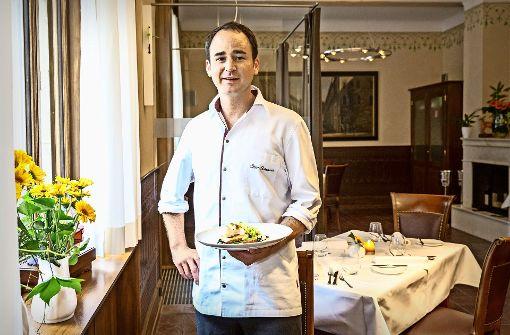 Gero Schweizer in seinem ersten eigenen Restaurant Foto: Lichtgut/Julian Rettig