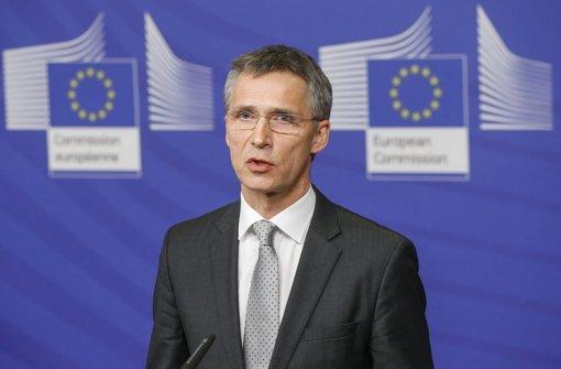 Stoltenberg wird Generalsekretär