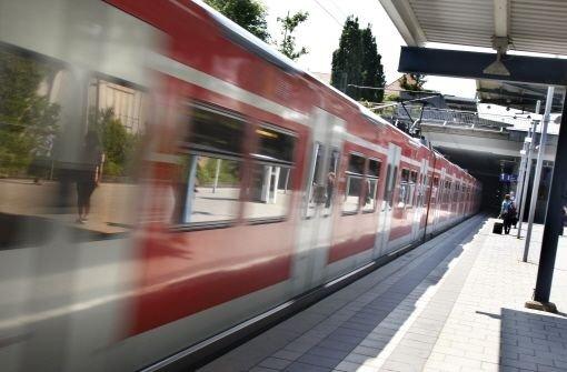 S-Bahn in Echterdingen Foto: Kern