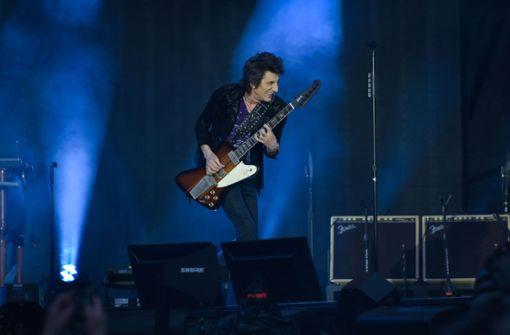 Ron Wood an der Gitarre Foto: Lichtgut/Max Kovalenko