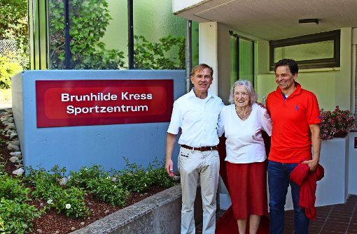 Ein neuer Name für das Verwaltungs- und Sportgebäude