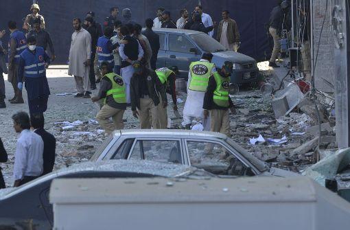 Mehrere Tote bei Explosion in Geschäftsviertel von Lahore