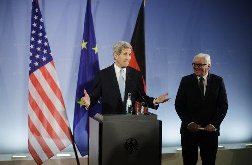 """Kerry nach Gespräch """"vorsichtig optimistisch"""""""