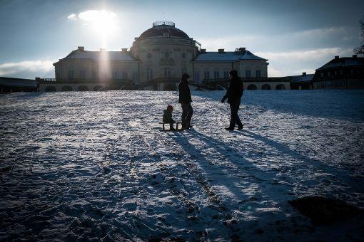 Der Winter lädt zu schönen Ausflügen ein, hier an der Solitude. Foto: Lichtgut/Achim Zweygarth