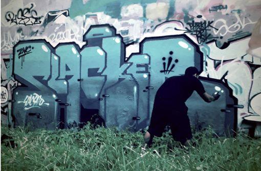 Elfjähriger sprüht fast 100 Graffiti und wird erwischt