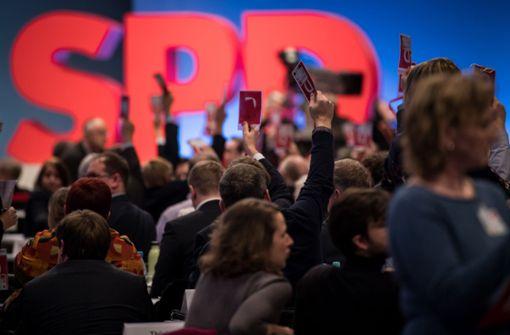 SPD stimmt für Koalitionsverhandlungen mit Union