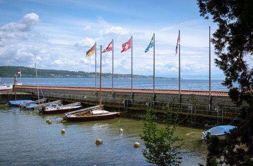 Blick vom Hafen der Insel Mainau in Richtung Norden (Fujifilm XT-2). Foto: Julian Wenzel