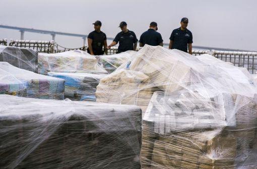 Riesiger Kokain-Fund in den USA