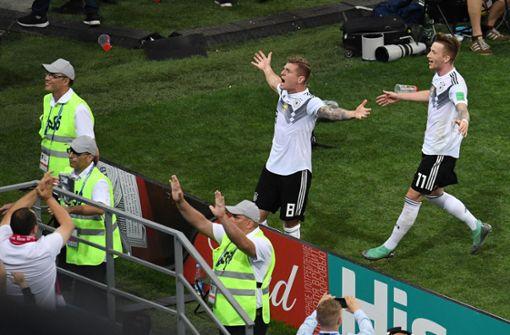 Löw-Team wendet WM-Vorrunden-Aus ab