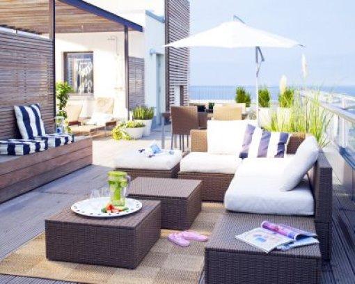 drau en wohnen wie drinnen willkommen im freiluftsalon. Black Bedroom Furniture Sets. Home Design Ideas