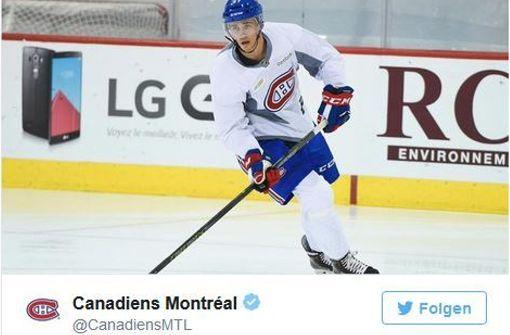 Eishockey-Stürmer Eisenschmid unterschreibt NHL-Vertrag