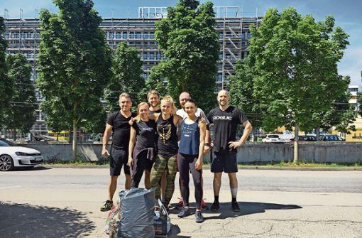 Die erste Aktion der Gruppe hat am Fasanenhof stattgefunden. Foto: privat