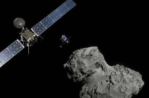 Mini-Labor vor Landung auf Kometen