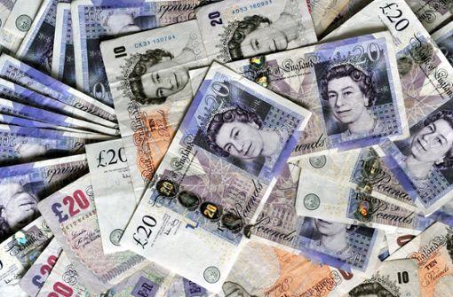 Einbrecher erbeuten britische Pfund