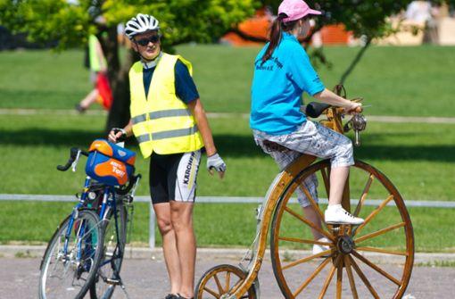 Nicht alles dreht sich um das Fahrrad