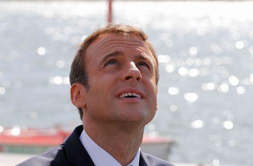 Macron auf Zickzack-Kurs