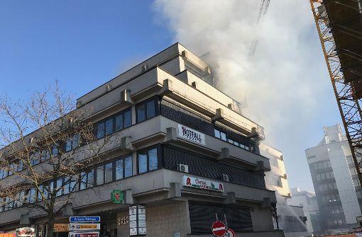 Bad Waiblingen alter postplatz in waiblingen notfallpraxis wegen großbrand