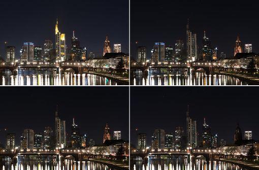 Wenn an der Frankfurter Skyline das Licht ausgeht