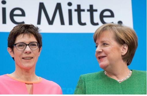 Merkel stärkt ihre Position