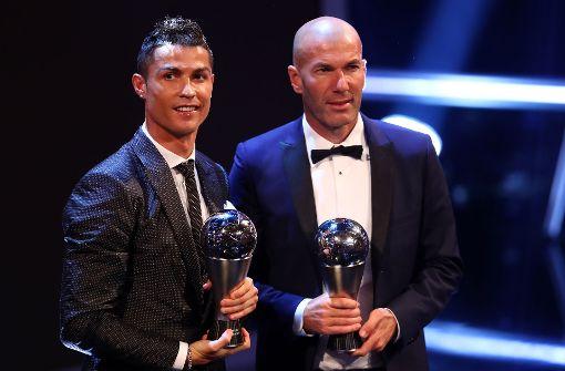 Cristiano Ronaldo setzt sich gegen Messi durch
