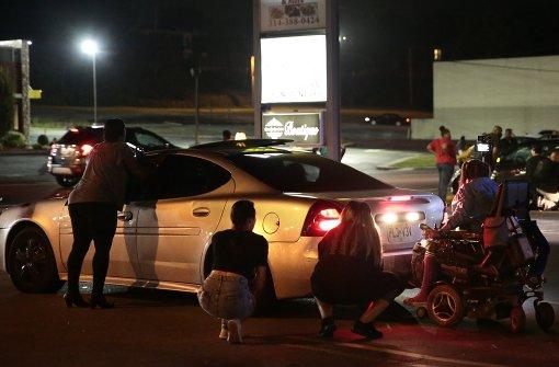 In Ferguson fallen wieder Schüsse