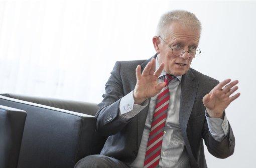 Stuttgarts OB Fritz Kuhn will neue Impulse für die Stadtgesellschaft Foto: Lichtgut/Leif Piechowski