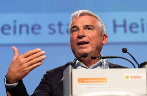 Seehofer verdirbt Südwest-CDU die Laune