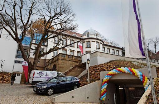 Die  Kinder- und Jugendhospiz ist im November eröffnet worden. Foto: Lichtgut/Verena Ecker