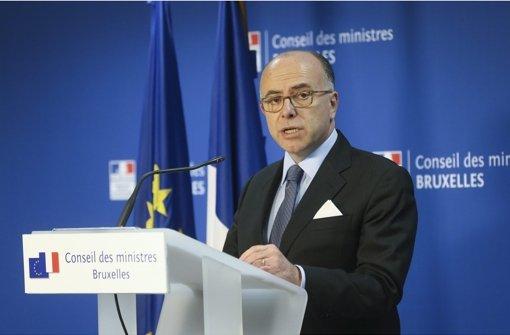 Einzelheiten über den Terrorplan in Frankreich nannte der Innenminister Bernard Cazeneuve  nicht. Foto: EPA