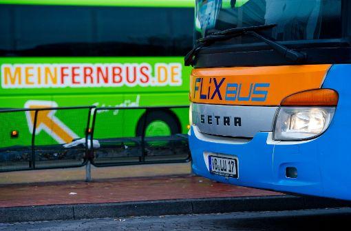 Zoff wegen der neuen Fernbuslinien