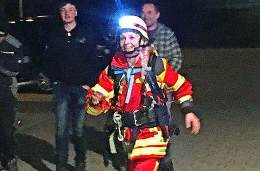 Einen Testlauf über 150 Kilometer hat Steffi Saul schon hinter sich gebracht. Foto: privat