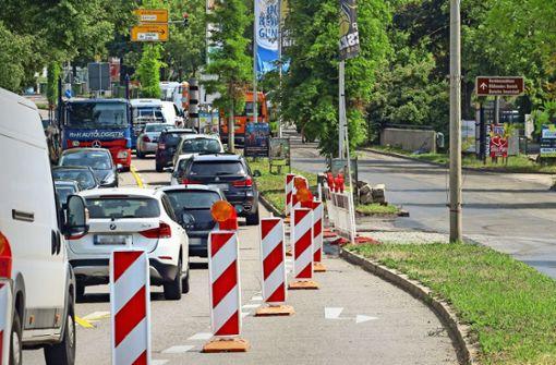 Die Hauptverkehrsader soll leiser werden