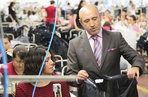 Erfolgreich mit Textilen: Der Gründer der Sahinler-Gruppe, Kemal Sahin. Foto: StN