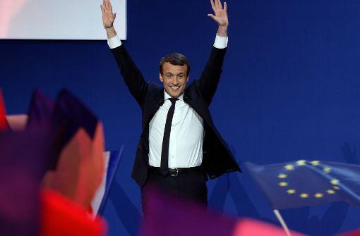"""Macron will """"Präsident der Patrioten"""" sein"""