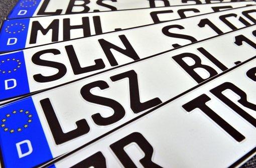 Städte dürfen Kfz-Zeichen wählen