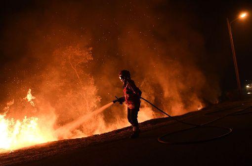 Situation in Waldbrandgebieten entspannt sich