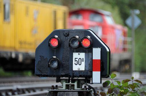 Güterzug in der Südpfalz entgleist