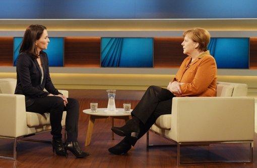 Die Kanzlerin hält ihre Politik für erklärungsbedürftig und kommt wieder zu Anne  Will ins Studio. Foto: dpa
