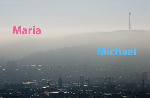 Die häufigsten Namen in Stuttgart
