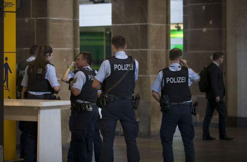 Angriff von hinten am Tatort Hauptbahnhof