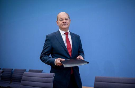 Finanzminister Olaf Scholz (SPD) will in der Rentenpolitik ein neues Kapitel aufschlagen. Foto: dpa