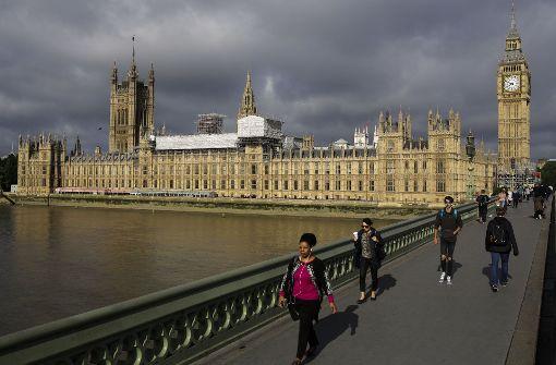 Verdächtiger vor Parlament festgenommen