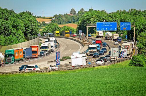 Tägliches Verkehrschaos durch Baustellen