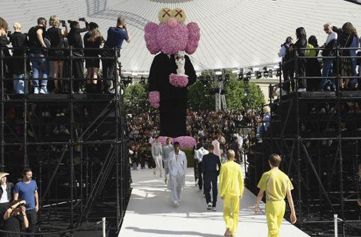 Gespannt erwartet: die erste Kollektion des britischen Designers Kim Jones für das Haus Dior bei der Pariser Men's-Wear-Fashion-Week. Foto: Getty Abo