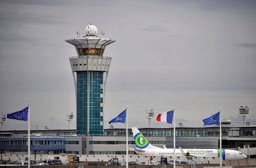 Luftverkehr am Flughafen Orly eingestellt