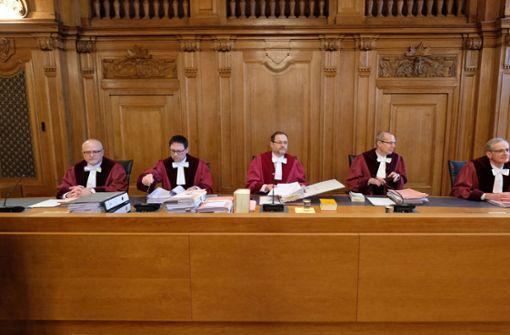 Bundesrichter versachlichen Debatte